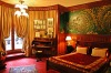 The Oscar Wilde Room in L'Hotel, Paris, France.