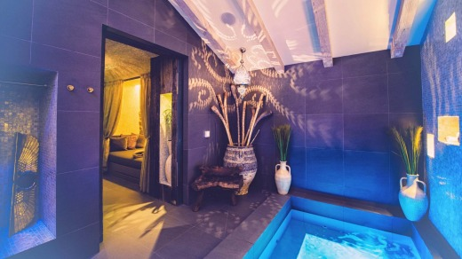 Spa treatments include everything from acupuncture and shirodhara therapy to binaural beats healing and craniosacral therapy.
