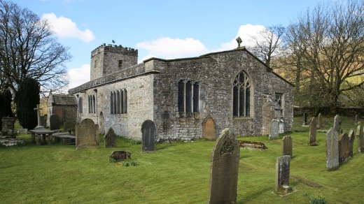 St Michaels and All Angels Church in Hubberholme.