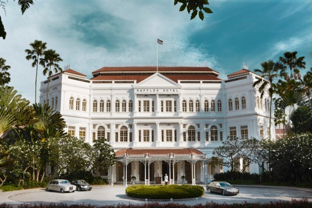 Raffles Hotel, Singapore: This was the first really posh hotel I ever stayed in, back in the 1980s, and once implanted, ...