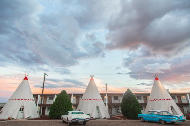 The Wigwam Motel in Holbrook, Arizona,  on Route 66: Where better to get your kicks than this famous set of roadways ...