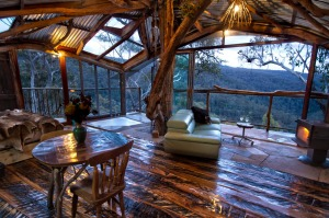 Go out on a limb at Secret Treehouse in the Wollemi Wilderness area of Bilpin.