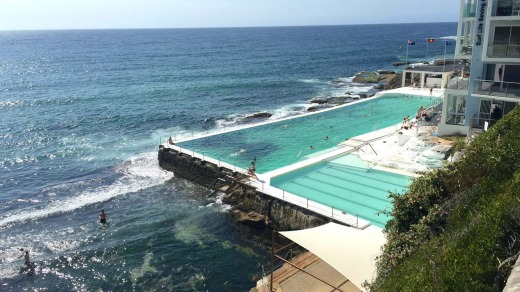 Bondi Icebergs, one of the most photographed pools in Australia.