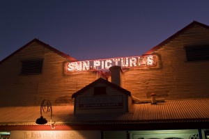 Sun Pictures, the oldest outdoor cinema in the world.