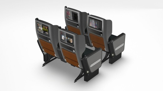 The seat will feature on some of Qantas' longest haul flights, starting with its first Dreamliner route from Melbourne ...