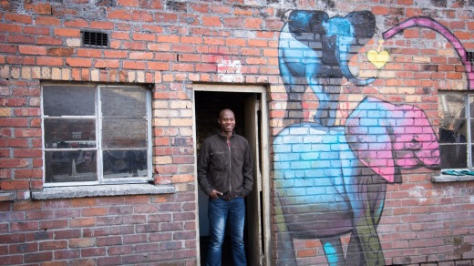 One of the locals in Langa.