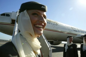 Etihad's multicultural flight team are friendly, professional and efficient.