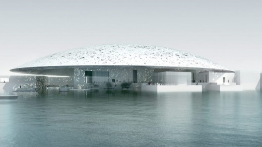 The Louvre, Abu Dhabi.