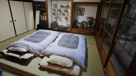 Ten Tatami mat guest room at Banja.