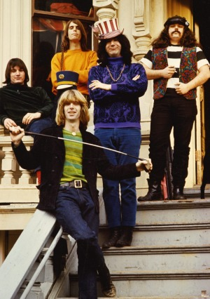 The Grateful Dead, an American rock band formed in 1965 in California.