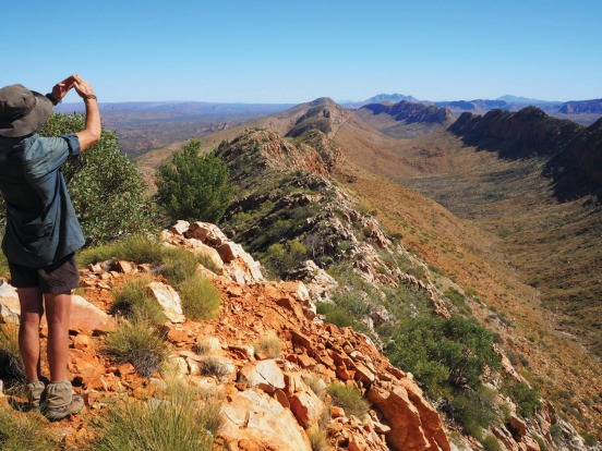 The Larapinta Trail is one of Australia's most spectacular long-distance hikes.