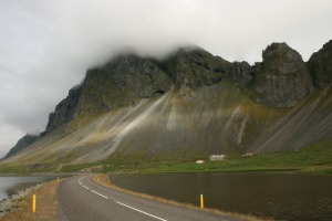 There is only one major road in Iceland, which circumnavigates the island.