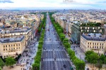Champs Elysees from Arc de Triomphe, Paris, France istock