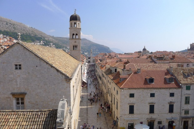 3. Stradun, Dubrovnik. Despite the crowds, a walk down Stradun, the main thoroughfare in Dubrovnik's old town, is a ...