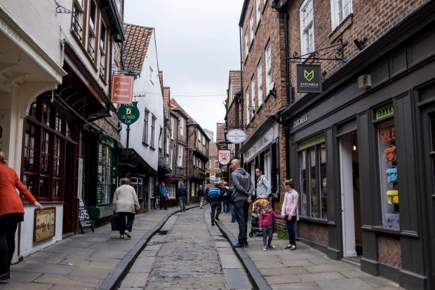 11. The Shambles, York. For full atmospheric effect, approach York's greatest building - The Minster - via The Shambles, ...