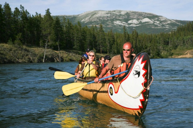 Continue the gold rush adventure theme with a two week two-week, 735-kilometre canoe excursion from The Yukon's capital ...