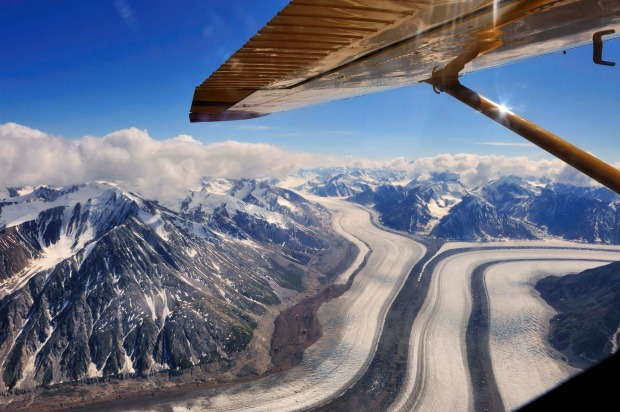 Home to Mount Logan, – Canada's highest peak at 5959 metres – as well as the world's largest non-polar glacier ice ...
