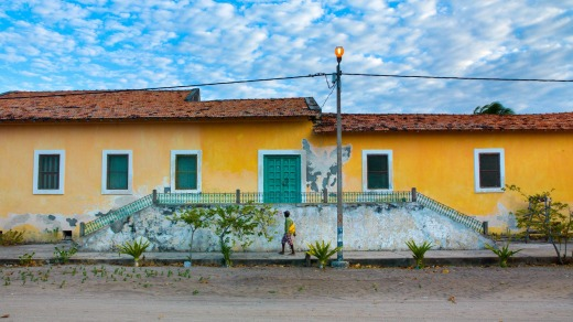 An old Portuguese colonial building, Ibo Island.