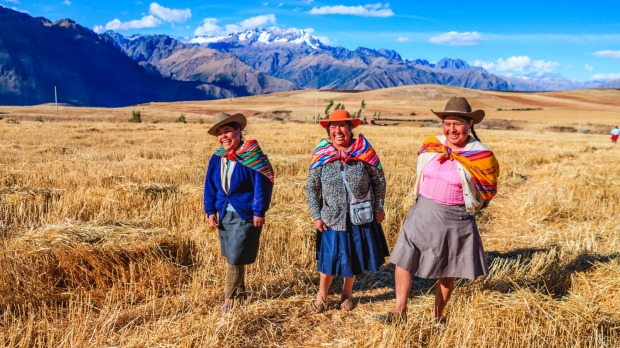 Plenty of mysteries in the Sacred Valley of the Incas.