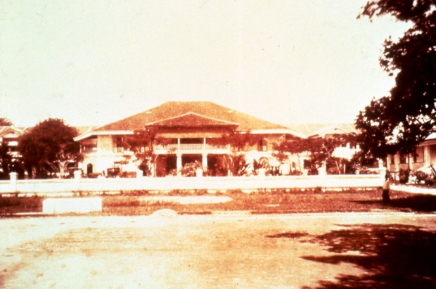 The Raffles Hotel Singapore in 1887.