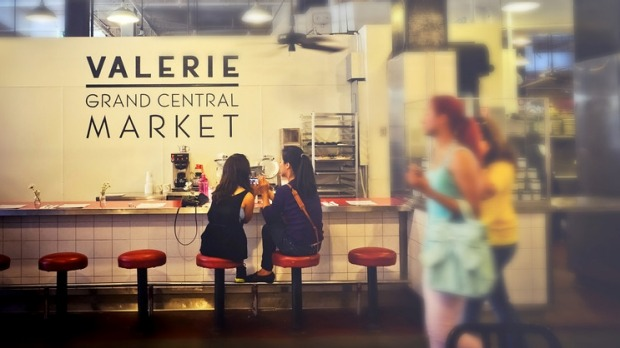 Valerie is a casual bakery offering customers pies, croissants and tarts.
