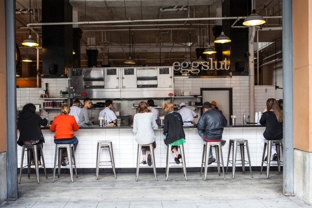 """Eggslut, Los Angeles: Come on. You don't call yourself """"Eggslut"""" unless you're looking for publicity, unless you're ..."""