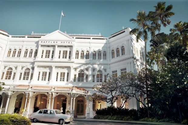 The Raffles Hotel in Singapore is undergoing a revamp, the latest change in its 130-year history.