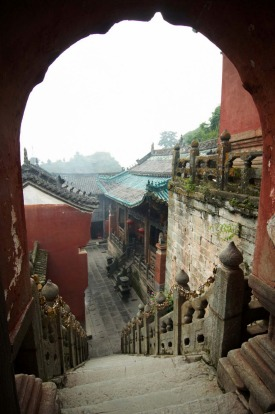 About 40 monasteries and temples dot the valleys of Wutai mountains, dominated by the 50-metre White Stupa at Taihuai.