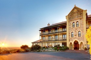 Mount Lofty House simply oozes romance.