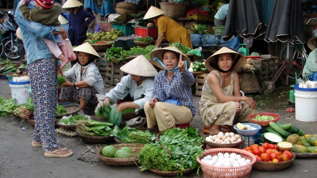 Vietnam is famed for its street food.