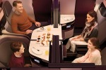 Photos: Qatar Airways' business class seat, the 'QSuite'.