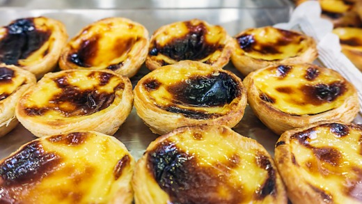 Portugese tarts are a must.