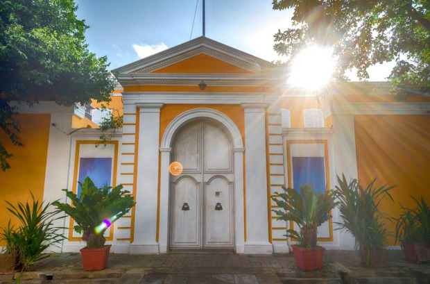 Heritage and colonial Buildings are abundant in the streets of Pondicherry.