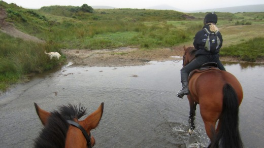 Dartmoor by horseback.