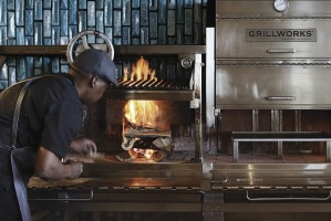 Marble: Everything is cooked over hot coals, the traditional South African way.