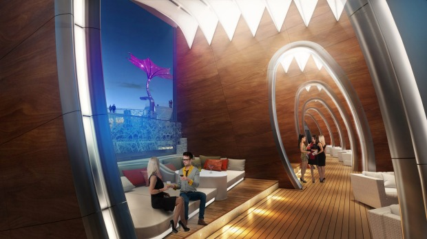 Cabanas on Celebrity Cruises' new Celebrity Edge ship.