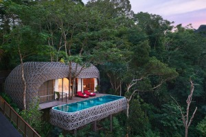The Bird's Nest Villas are the most desirable at Keemala resort on Phuket.