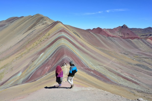 RAINBOW MOUNTAIN, PERU: There is an option to get to these ridiculously pretty mountains, striped with blues, yellows, ...