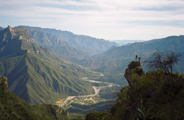 URIQUE-BATOPILAS, MEXICO: This three-day hike into Mexico's Copper Canyon, which is actually a complex of six major ...