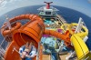 The Kaleid-O-Slide waterslide on Carnival Vista: This new 3954-passenger action-packed cruise ship launched last May, ...