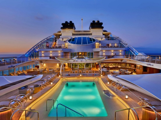 Seabourn Encore: Seabourn's latest and largest cruise ship, carrying 600 passengers, started operating in January and ...