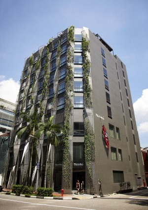 This discreet eight-storey hotel is tucked in the historic shophouse-studded backstreets.