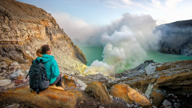 Every volcano stinks, but Ijen, Indonesia takes it up another notch thanks to billowing sulphuric steam.