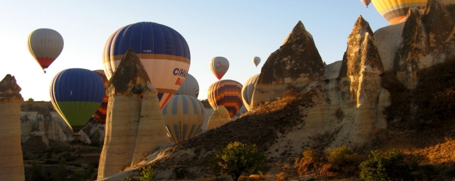 September 2016, Our hot air balloon fight in Cappadocia, Turkey, was a massive surprise when about one hundred balloons ...