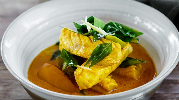 Achenese fish curry