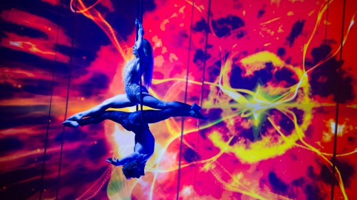 A big highlight in the entertainment arena will be twice daily Cirque du Soleil shows.