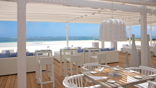 Beach Rouge is a fine spot for resort guests to take lunch.
