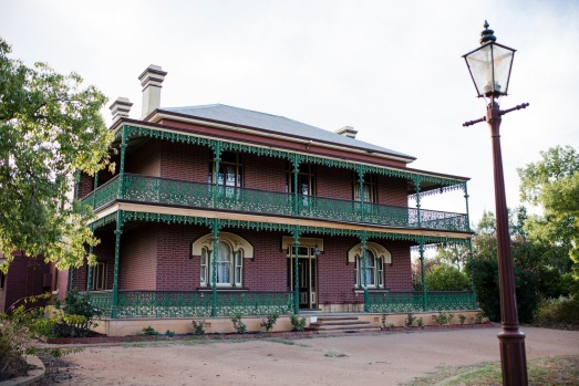 Monte Cristo Homestead at Junee, is claimed to be Australia's most haunted house. Photo: Jamila Toderas