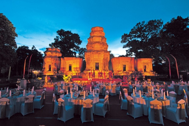 Temple Dinner and Apsara Show, Cambodia.