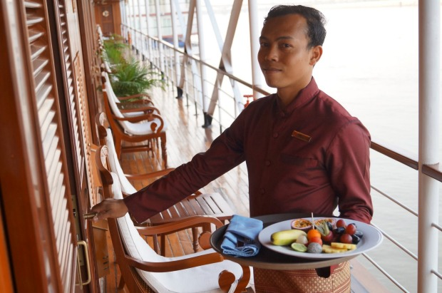 Life on board a Pandaw river cruise ship.